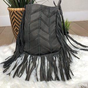 Cut N Paste free people brand leather bag